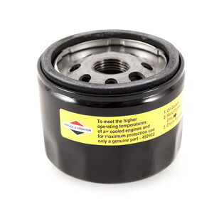 Briggs and Stratton Part Number 492932S. Oil Filter