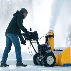 "2X 26"" HP Snow Blower"