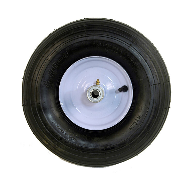 """Wheel-6"""" Wheelbarrow Wheel 2 Ply -Knobby"""