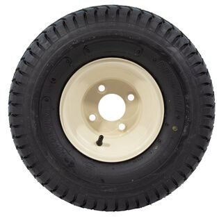 Wheel Assembly (18 x 9.5-8) (Beige-Deli)