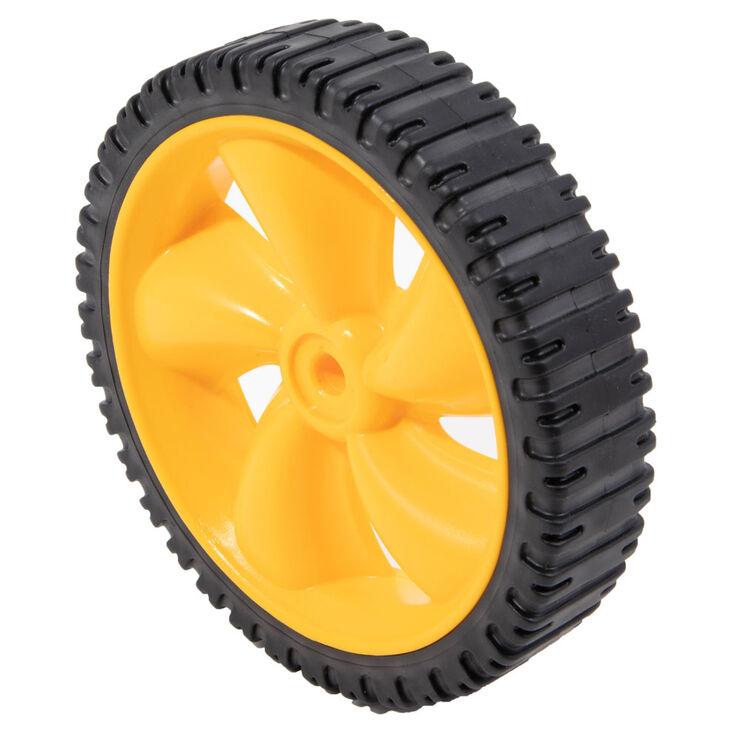 Wheel Assembly, 8 x 1.8 - Yellow