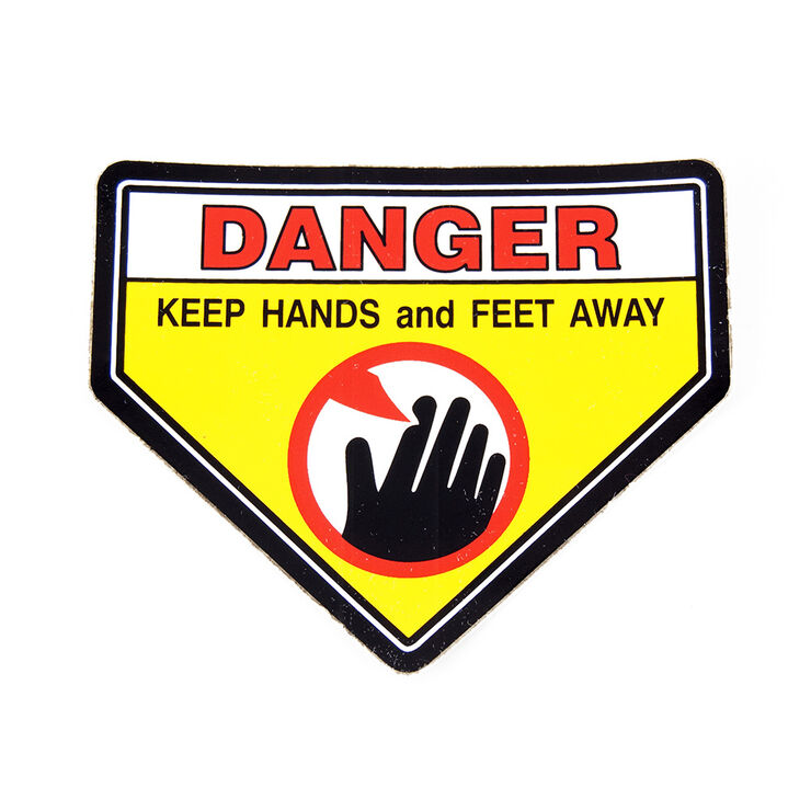 DECAL-OPEI CAUTION