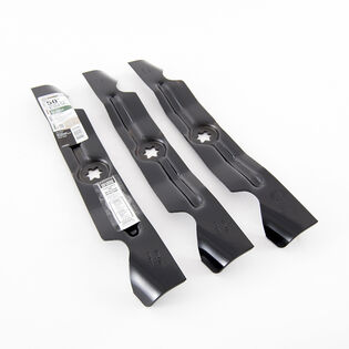 2-in-1 Blade Set for 50-inch Cutting Decks