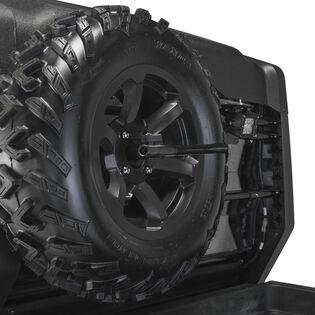 Spare Tire with Black Rim