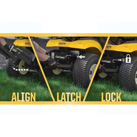 FastAttach™ Double Bagger For 42- and 46-inch Decks