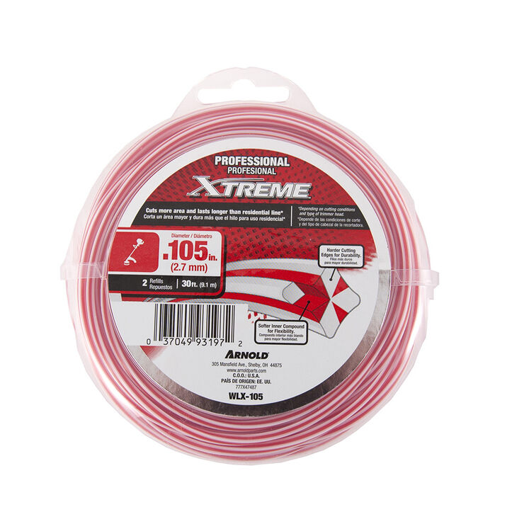 """.105"""" Professional Xtreme Trimmer Line"""