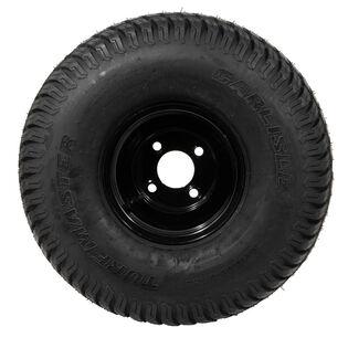 Complete Wheel 20x10-8 (Turf) (Powder Black)
