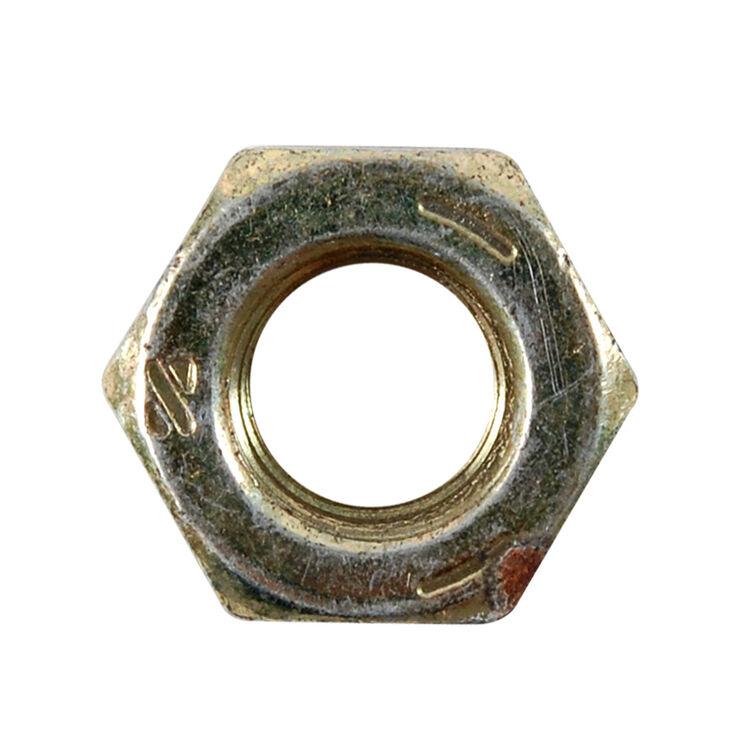 Hex Center Lock Nut, 5/16-18