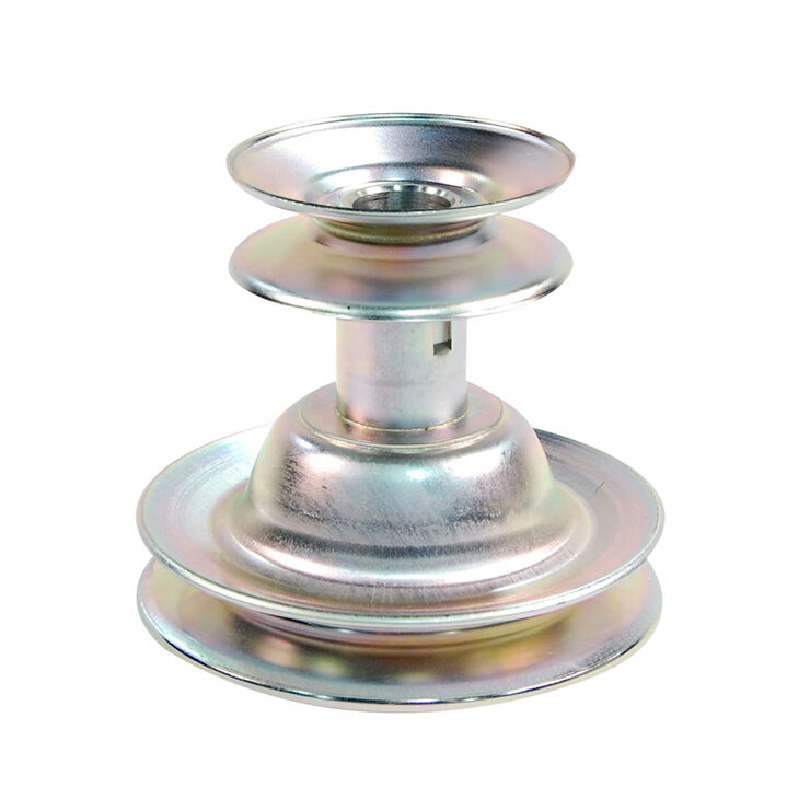 "Engine Double Pulley - 3.56"" / 5.5"" Dia."