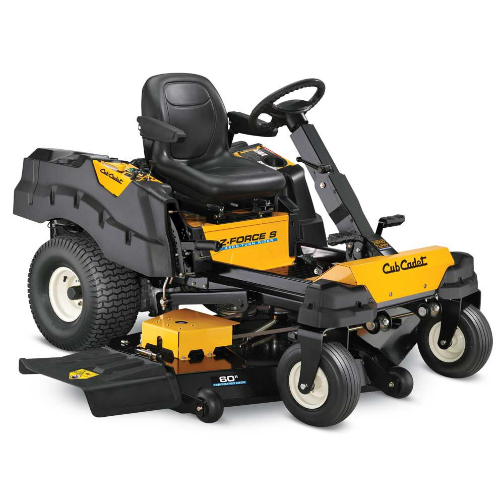 Z-Force S 60 Cub Cadet Zero Turn Mowers  review