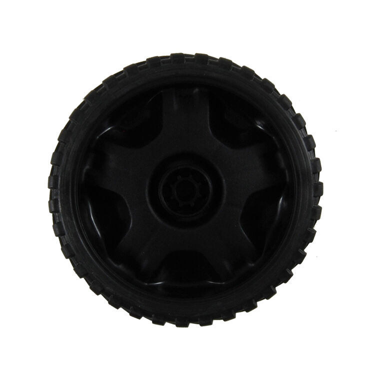 Wheel Assembly, 7 x 2 - Black