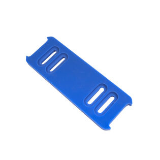 Blue Polymer Slide Shoe