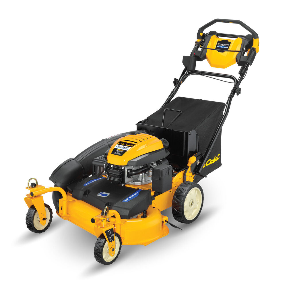 Cub Cadet CC 600 Wide-Area Walk-Behind Mowers review