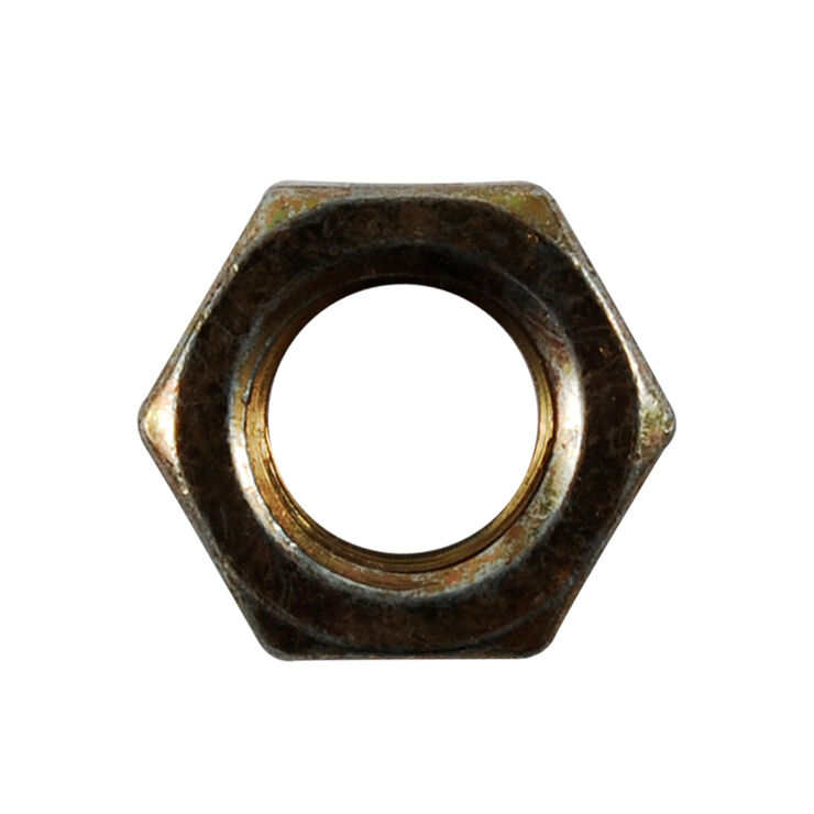 Hex Jam Lock Nut, 3/8-16
