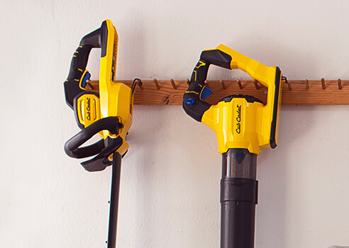 hand tools hanging on wall easily