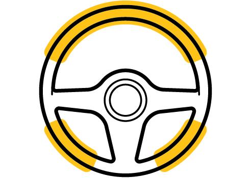 steering zero turn feature