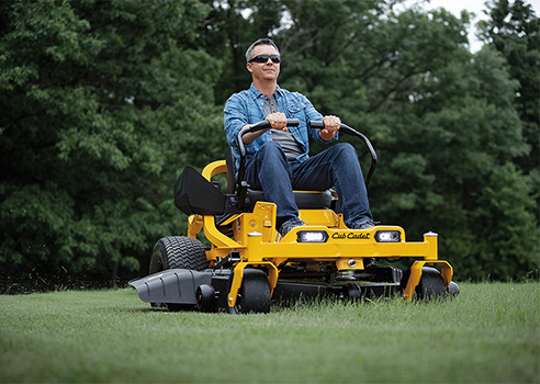 collection of Cub Cadet products