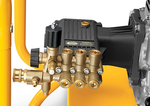 Cub cadet Heavy-duty contractor grade triplex pumps