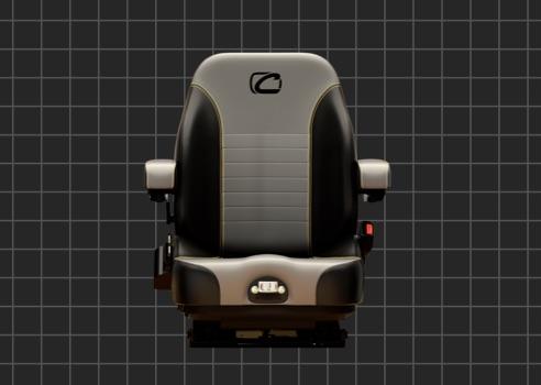 Zero turn seat