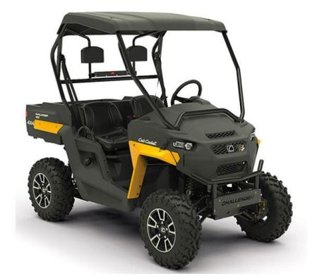 Image of recalled UTV