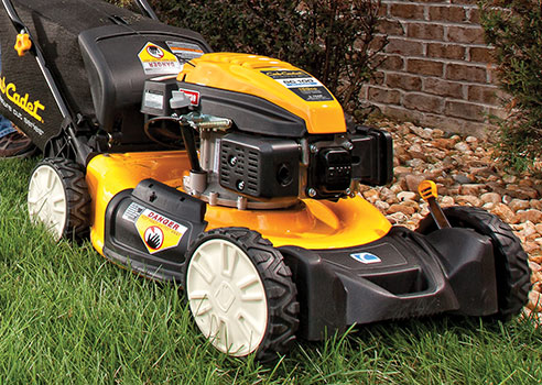 Stand Behind Lawn Mower >> Universal Power Rake 6 In 1 Blade
